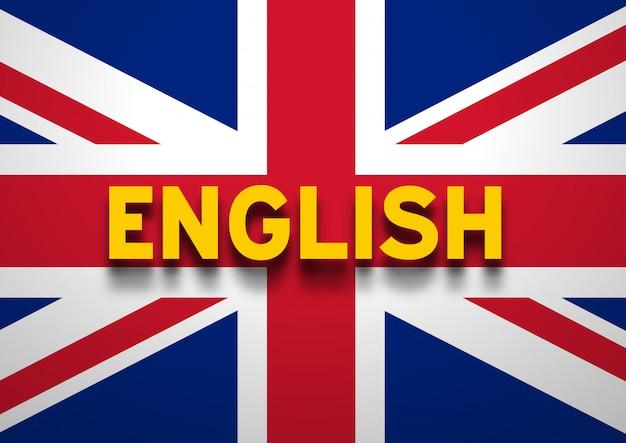 Tło mówiące po angielsku
