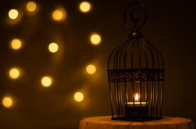 Tło muzułmańskiego święta świętego miesiąca ramadan kareem.