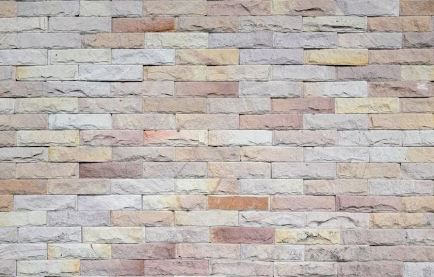 Tło nowożytna ściana z cegieł tekstura