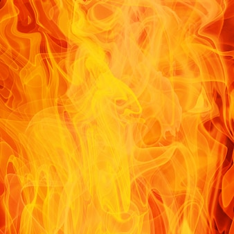 Tło ognia i płomieni