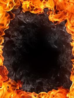 Tło ognia