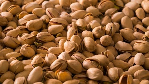 Tło orzechy pistacjowe