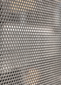 Tło panelu ogrodzenia przemysłowego drutu żelaznego