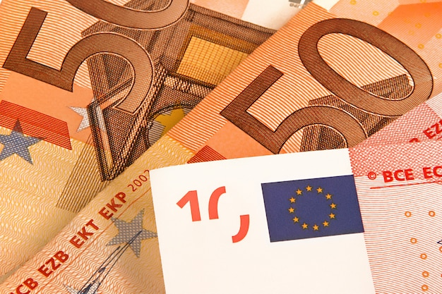 Tło pieniądze euro