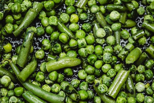 Tło płaskie świeckich zielony groszek