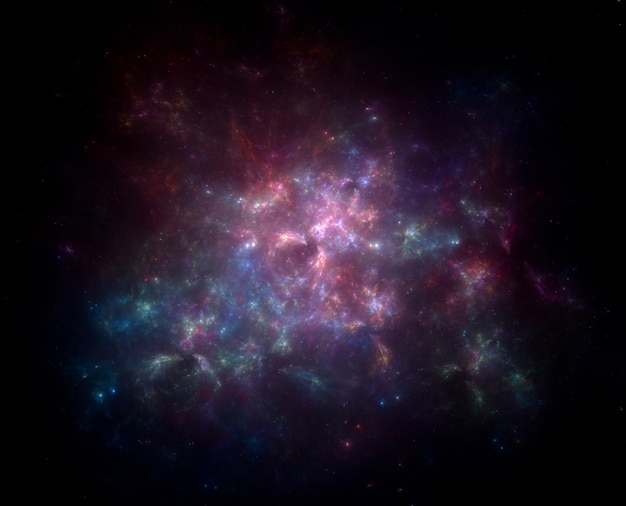 Tło pola gwiazdowego.