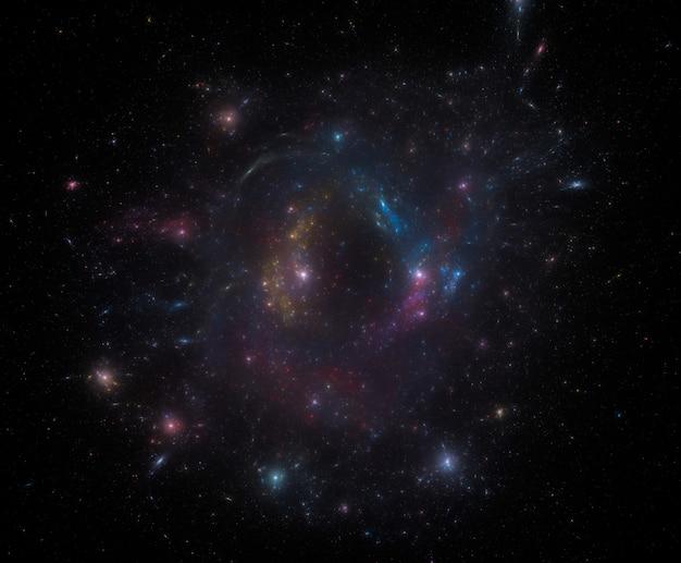 Tło pola gwiazdy. gwiaździsta kosmosu tła tekstura
