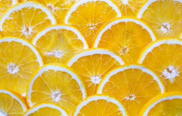 Tło pomarańczowe plastry.