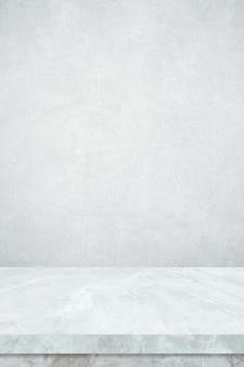Tło powierzchni pionowego stołu z marmuru