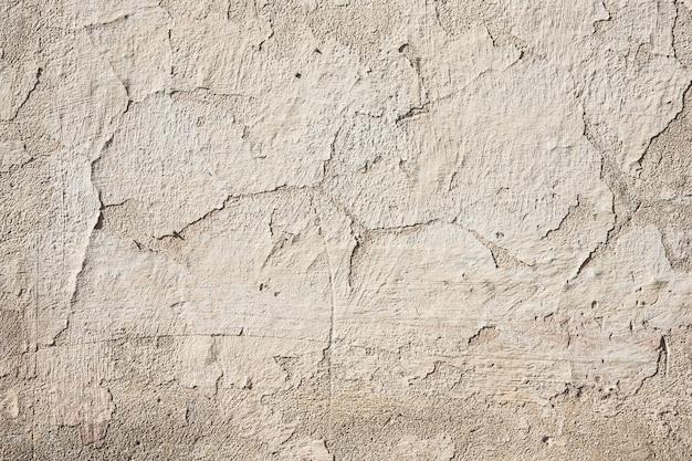 Tło powierzchni sztukaterie. ściana z brązowego tynku. grunge porysowany betonowy panel