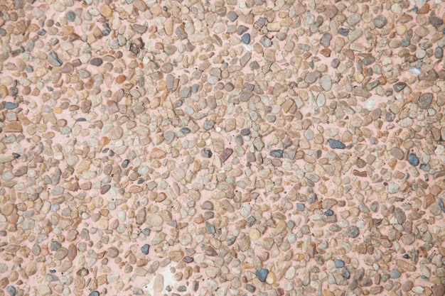 Tło powierzchnia żwiru kamienia lastryko podłoga