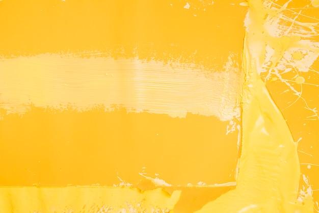Tło powitalny kreatywnych żółta farba