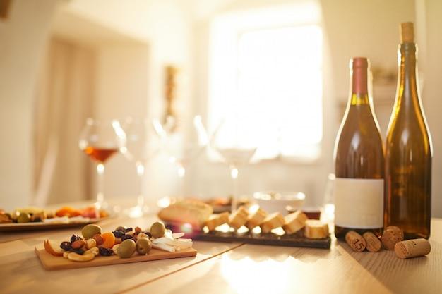 Tło produkcji wina