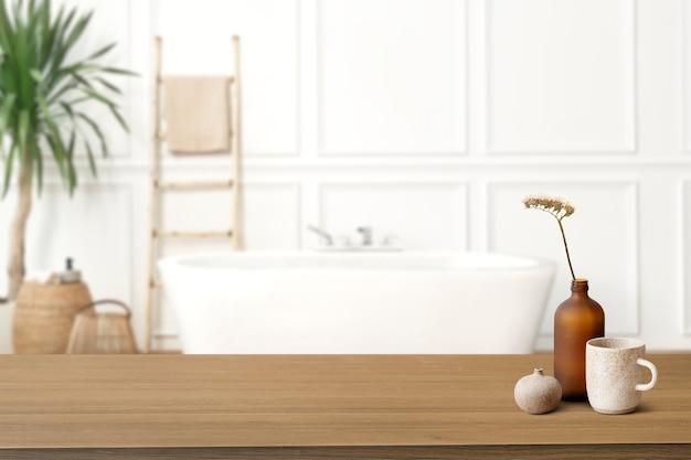 Tło produktu łazienkowego, obraz tła wnętrza!