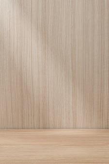 Tło produktu z jasnego japońskiego drewna