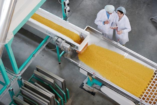Tło przemysłu spożywczego