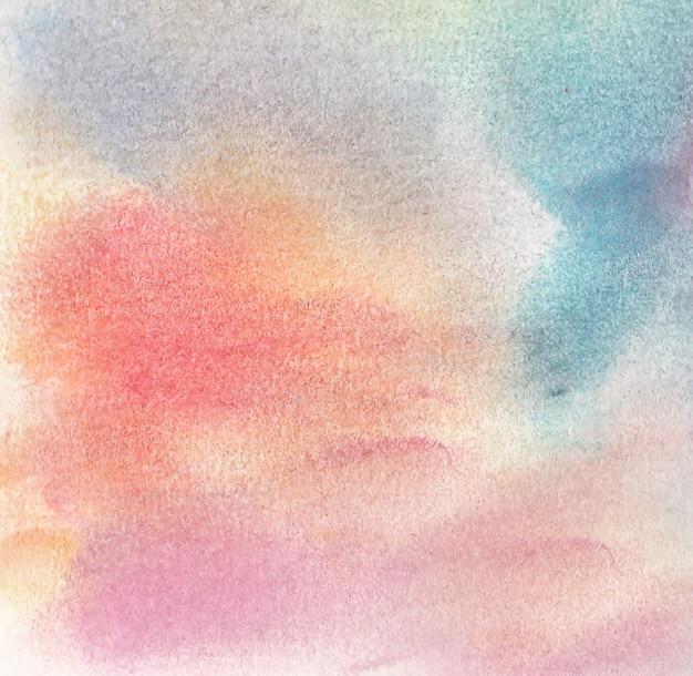 Tło rysunku z miękkimi kredkami pastelowymi w różnych ładnych kolorach.