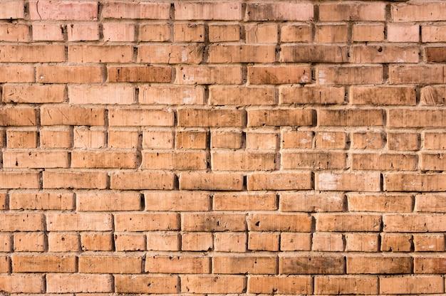 Tło ściana z cegieł rocznika