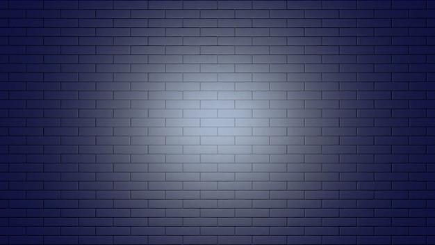 Tło ściany z czarnej cegły