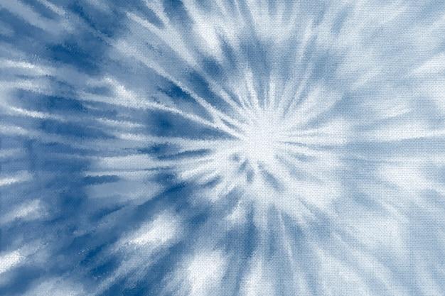 Tło shibori z niebieskim wzorem w kolorze indygo