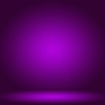 Tło studyjne koncepcja abstrakcyjna puste światło gradientowe fioletowe tło pokoju studyjnego dla produktu