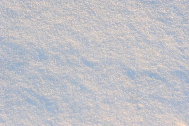 Tło świeży biały połysku śnieg