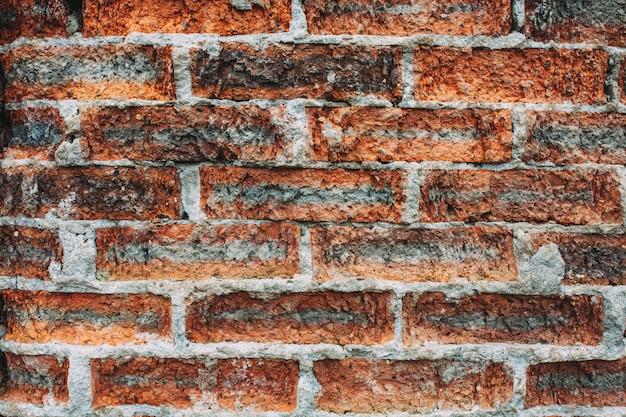 Tło tekstura stary ściana z cegieł