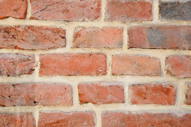 Tło tekstury ściany z cegły