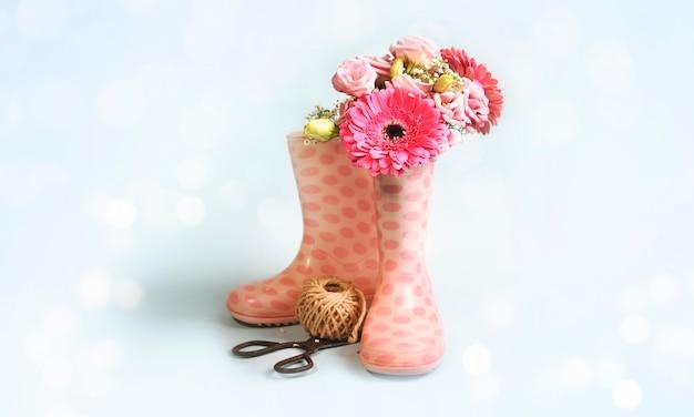 Tło wiosna. daisy gerbera