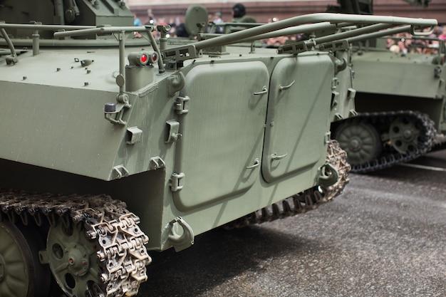 Tło wojskowy czołg