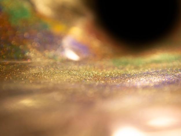 Tło wspaniałe światła brokat. błyskotliwość rocznik zaświeca tło.
