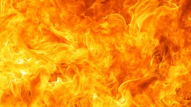 Tło wybuch ognia