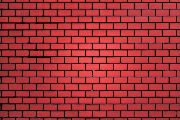 Tło wzór ściany z czerwonej cegły