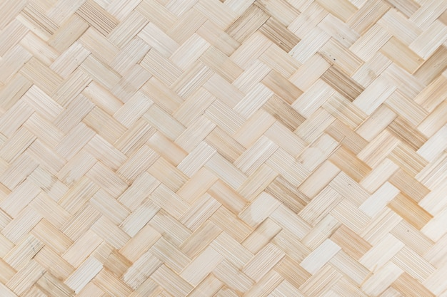 Tło wzór splot bambusa