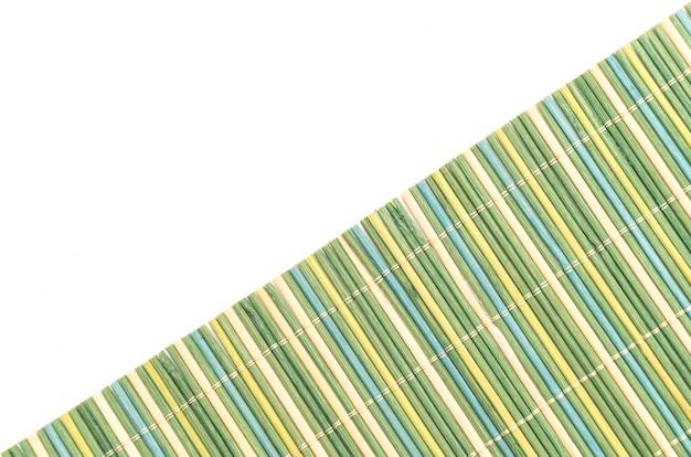 Tło z bambusa powierzchni mat