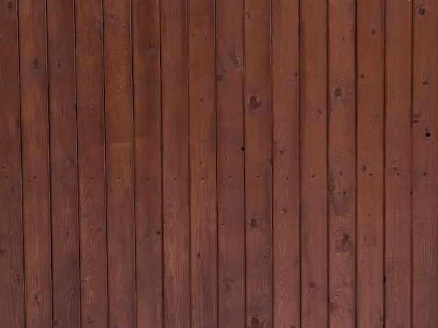 Tło z brązowych desek, tekstura drewna natura z sękami