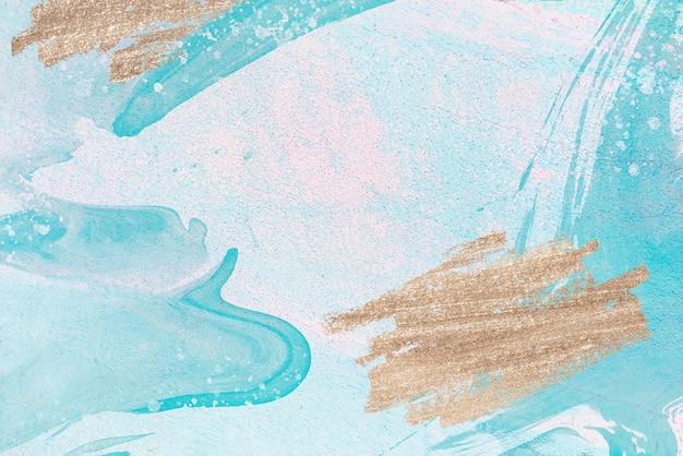 Tło z brokatem i farbą