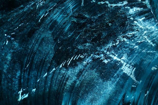 Tło z bryły lodu z odpryskami i zadrapaniami