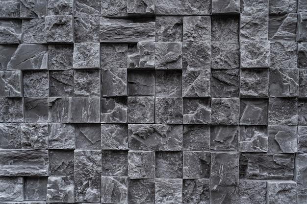 Tło z ciemnego granitu kwadratowego