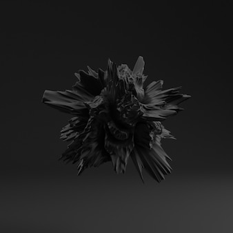 Tło z czarnym kształtem, tekstura