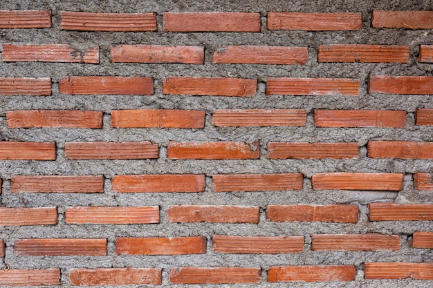 Tło z czerwonej cegły ściany
