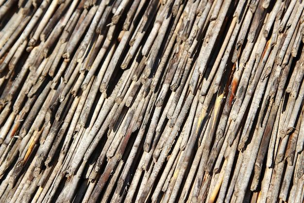 Tło z dużej ilości materiału konstrukcyjnego o ciekawej fakturze