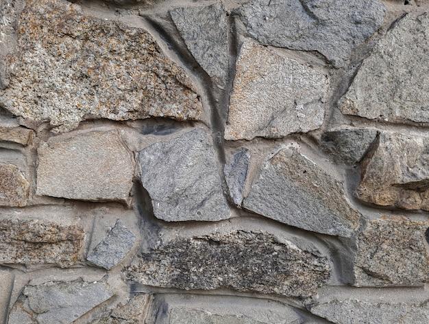 Tło z dużym kamieniem, tekstura, szary