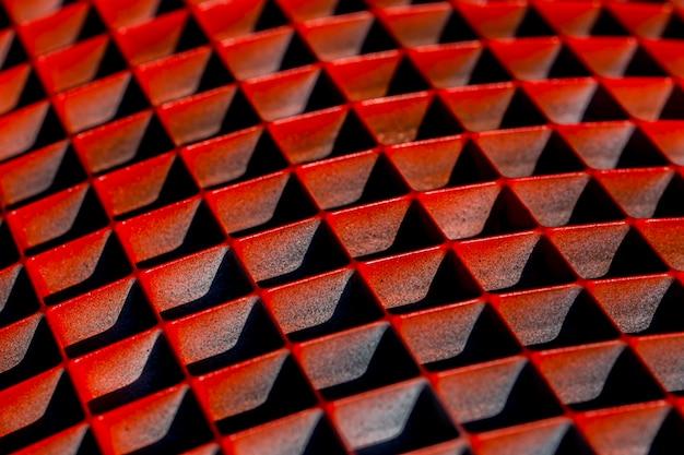 Tło z geometrycznymi kształtami abstrakcyjny kształt w kolorze czerwonym