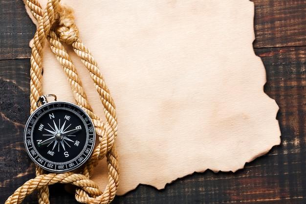 Tło z kompasem