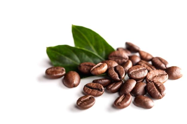 Tło z palonych ziaren kawy