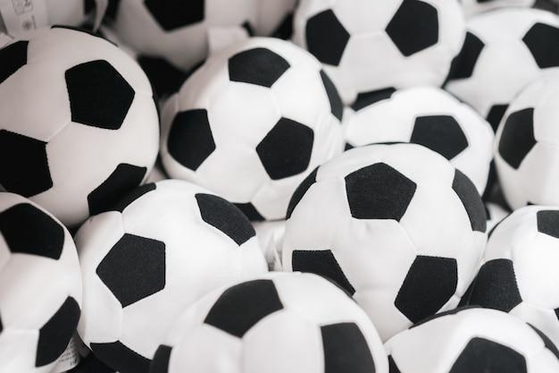 Tło z piłki nożnej