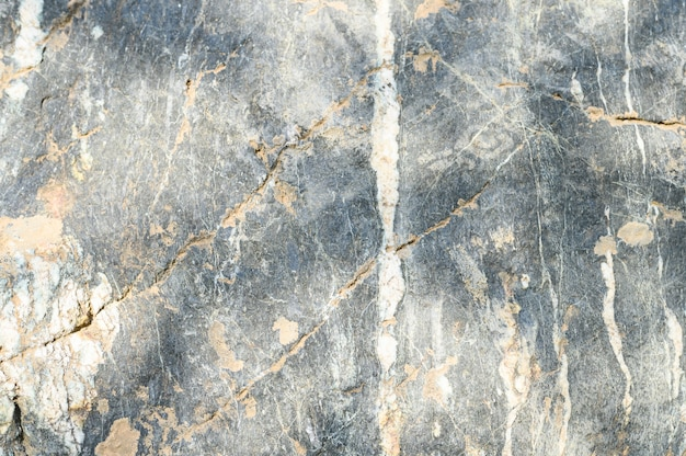 Tło z powierzchni szarej skały kamiennej