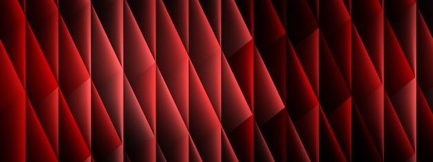 Tło z rombów, kształtów geometrycznych, renderowania 3d, obrazu panoramicznego