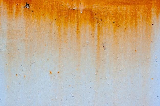 Tło zardzewiałe tekstury na ścianie